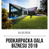 Podkarpacka Gala Biznesu 2018  ( 26.10.2018 ) , media patronat  MTV24.TV  & Fonomedia Group
